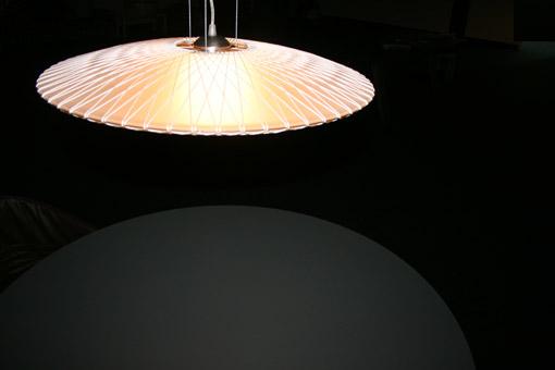 Design lampenkap disque